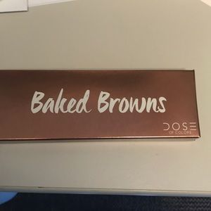 Dose of Colors Eye Shadow Pallet: Baked Browns.